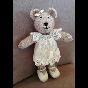 Lacey Bear Knitting Pattern