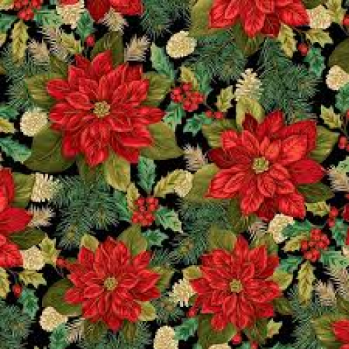 Christmas Splendor - Poinsettia