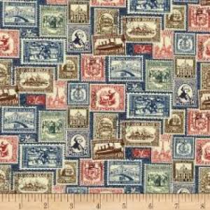 Vintage Travel - stamps
