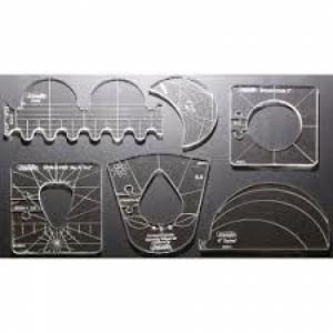 Westalee Sampler Template Set 1 - High Shank