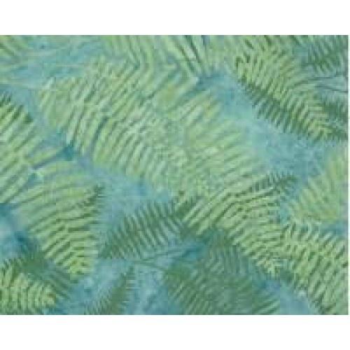 NZ Fern - Batik