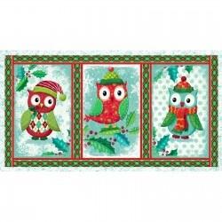Owl Be Home for Christmas - Panel