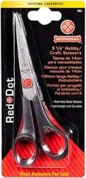 Mundial Red Dot 5 1/5 inch Hobby Scissors