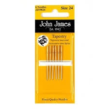John James Tapestry Needles size 24