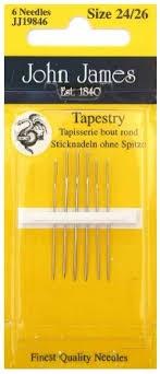 John James Tapestry Needles Size 24/26