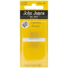 John James Embroidery Tapestry Petites Size 26
